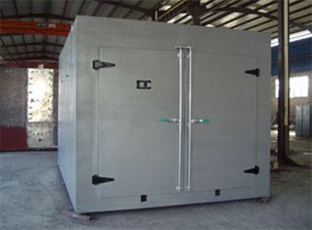 烘箱的温度控制采用电子温度调节全自动控制,热电偶传感器.